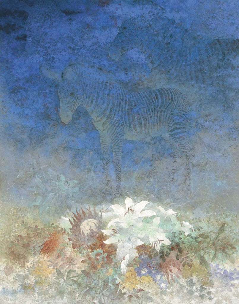 Yamada Shin, Illusion, (2007), Adachi Museum of Art.