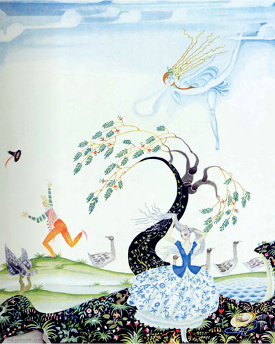 "Kay Nielsen ""The Three Feathers"" (1925)"