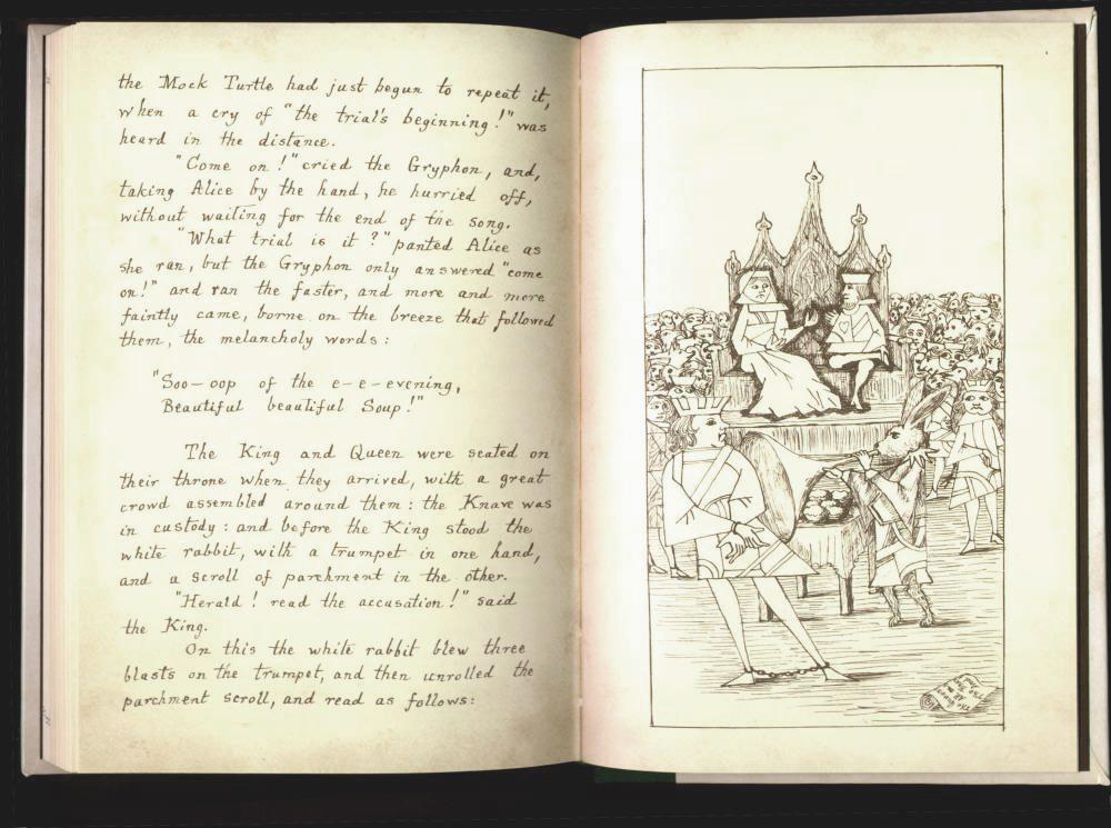 Lewis Carroll Alice's Adventures under Ground, 1964.