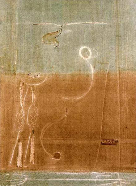 Mark Rothko (Daugavpils, Letonia, 1903 – Nueva York, EE.UU., 1970), Aubade, 1944.