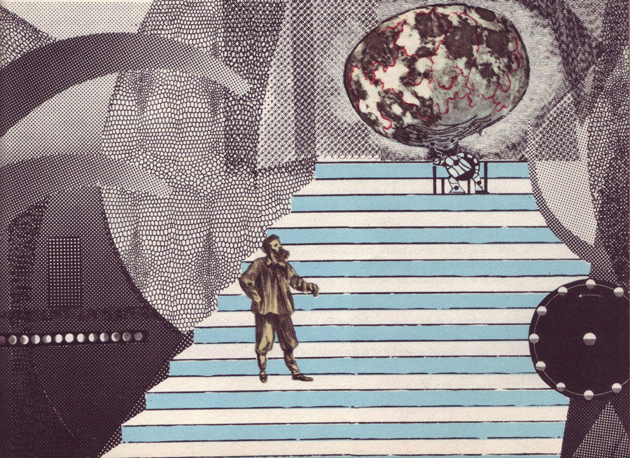 08-Adolf-Hoffmeister--1964--illus.-for-Czech-trans.-of-Well-s-First-Men-in-the-Moon_900