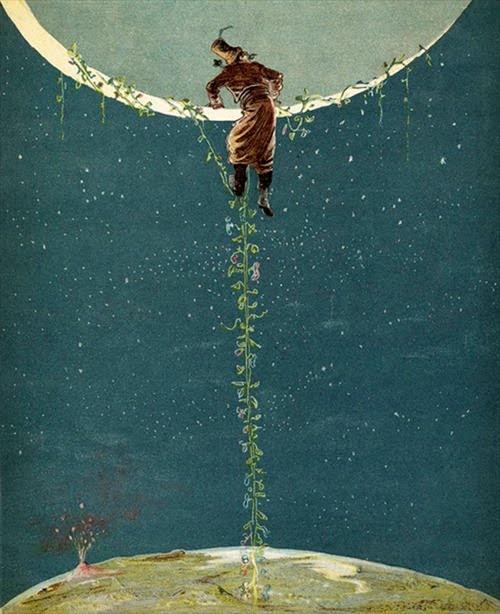 Alphonse Adolf Bichard, ilustración para The Adventures of Baron Munchausen, 1886.