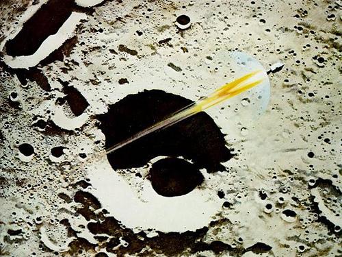 Robert T. McCall, Apollo 8 Coming Home, 1969.