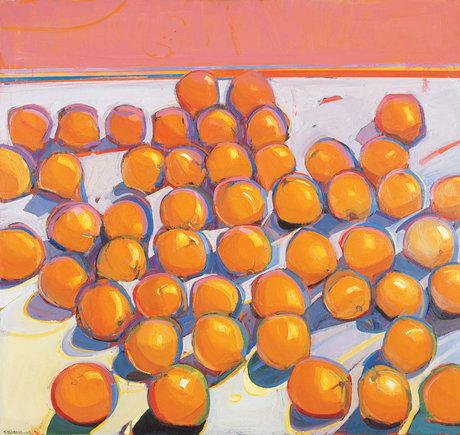 Raimonds Staprans, Way Too Many Unruly Oranges, 1998,  San Jose Museum of Art.