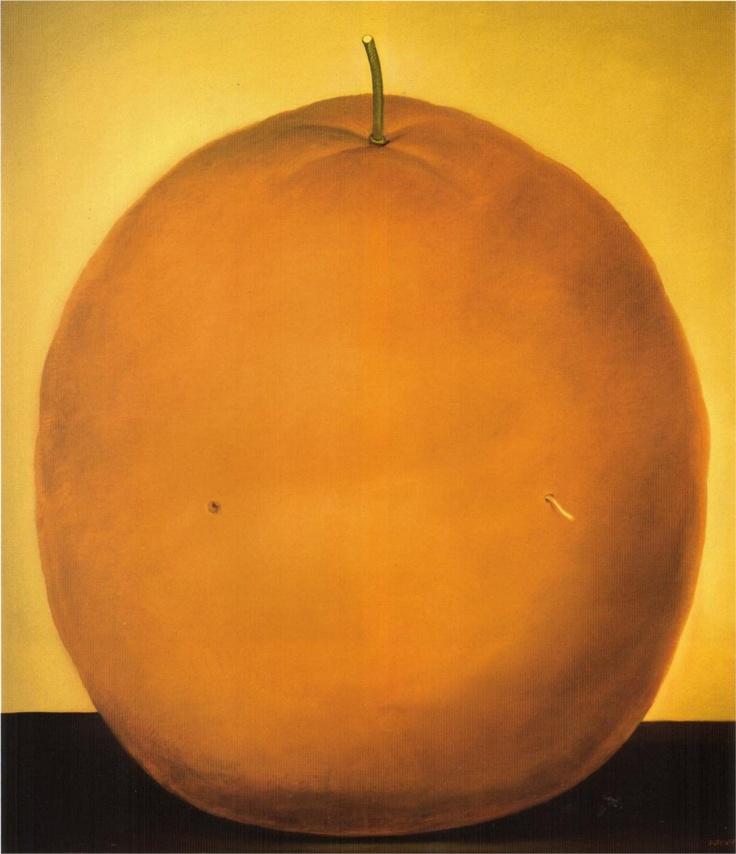 Fernando Botero, Naranja, 1977, Museo Nacional de Colombia.