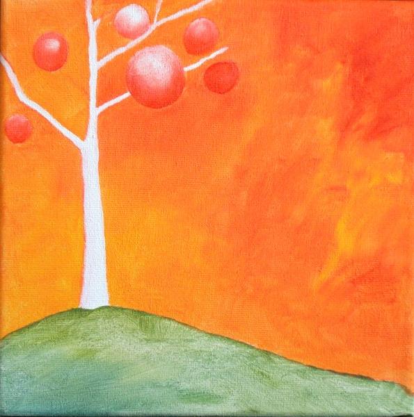 Mónica Urriolagoitia, Au cirque du soleil (óloeo sobre lienzo), 2005.