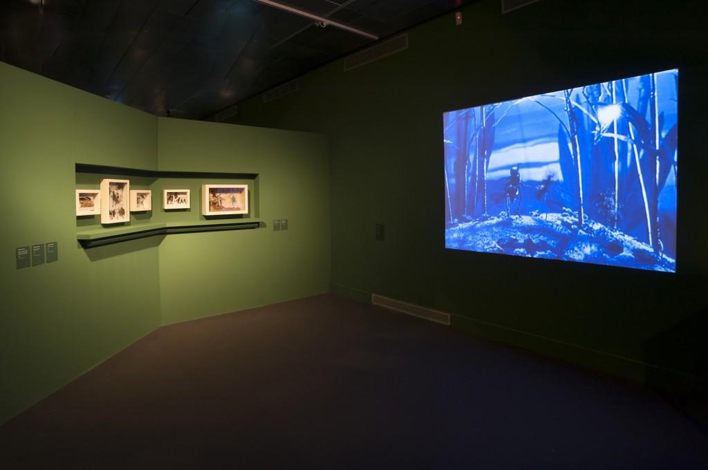"""Imágenes de la exposición """"Metamorfosis"""" en el CCCB."""