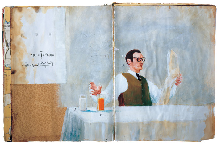 Oliver Jeffers, Book Project, 2004