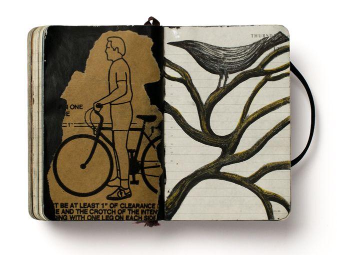 Pep Carrió, Los días al revés - Diario Visual. Libros La Fábrica, Madrid, 2012
