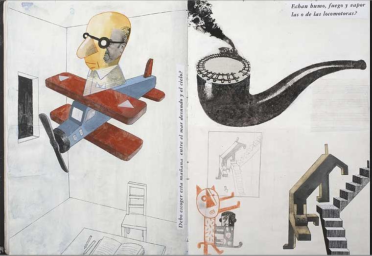 Isidro Ferrer, Cuadernos del Libro de las Preguntas, 2007