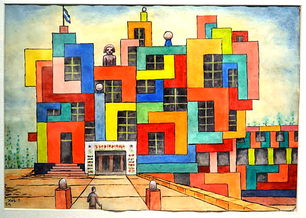 Proyecto Fachada para ciudad, 1954.