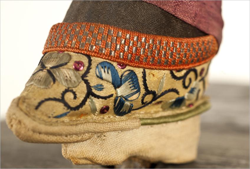 Zapato del maniquí femenino