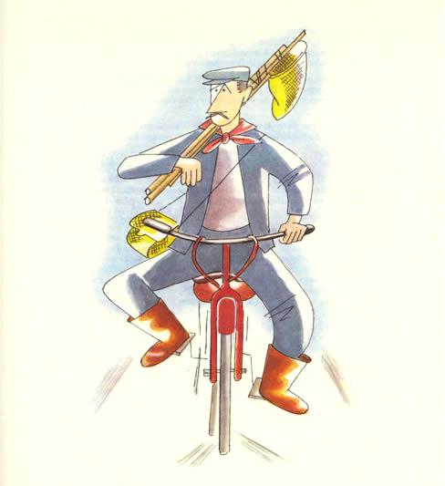 Sergio Tofano, ilustraciones para  Marcovaldo (1963).