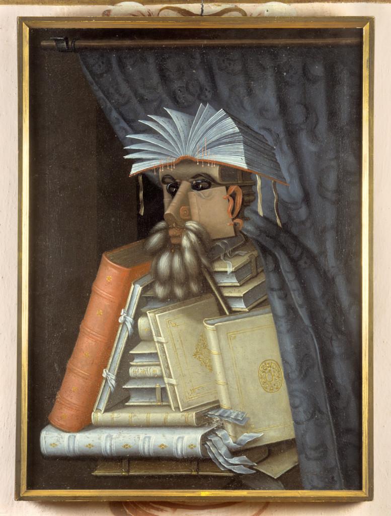 Giuseppe Arcimboldo, El librero, 1556.