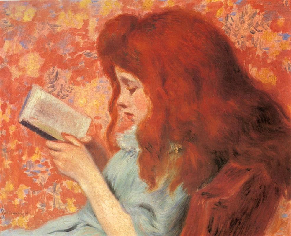 Federico Zandomeneghi, Joven lectora, 1879.