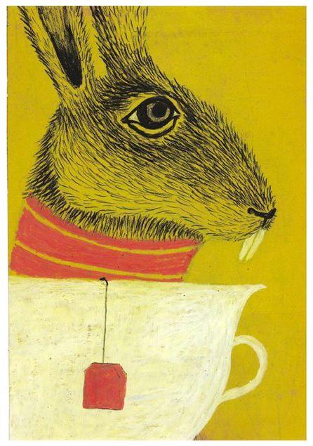 Violeta Lópiz (Ibiza, 1980), ilustración inspirada en Alicia en el País de las Maravillas de Lewis Carroll, para el Salon du livre et de la presse jeunesse de Seine-Saint-Denis, París, 2006.