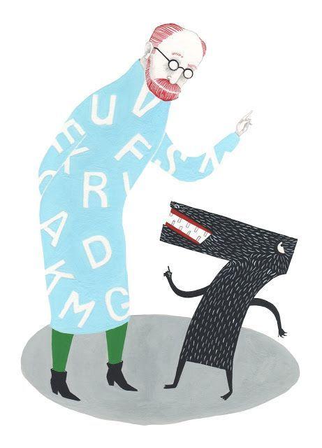 Cómo el número 7 se volvió loco de Bram Stoker, ilustración de Eugenia Ábalos, Editorial Gadir (2013).
