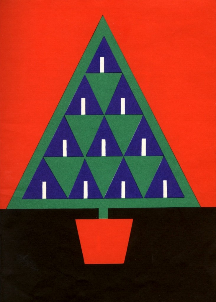 Fredun Shapur, The Christmas Tree de Kathleen Brooks, 1966.