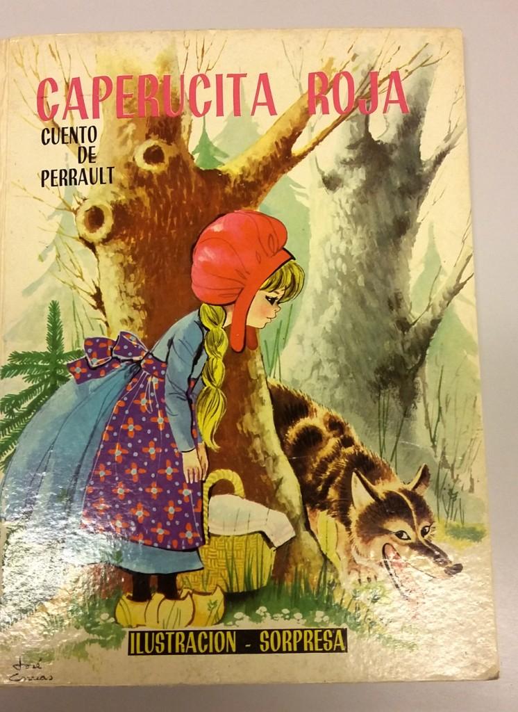 Caperucita roja, de C. Perrault, ilustraciones de José Correas Flores, Editorial Molino, 1964.