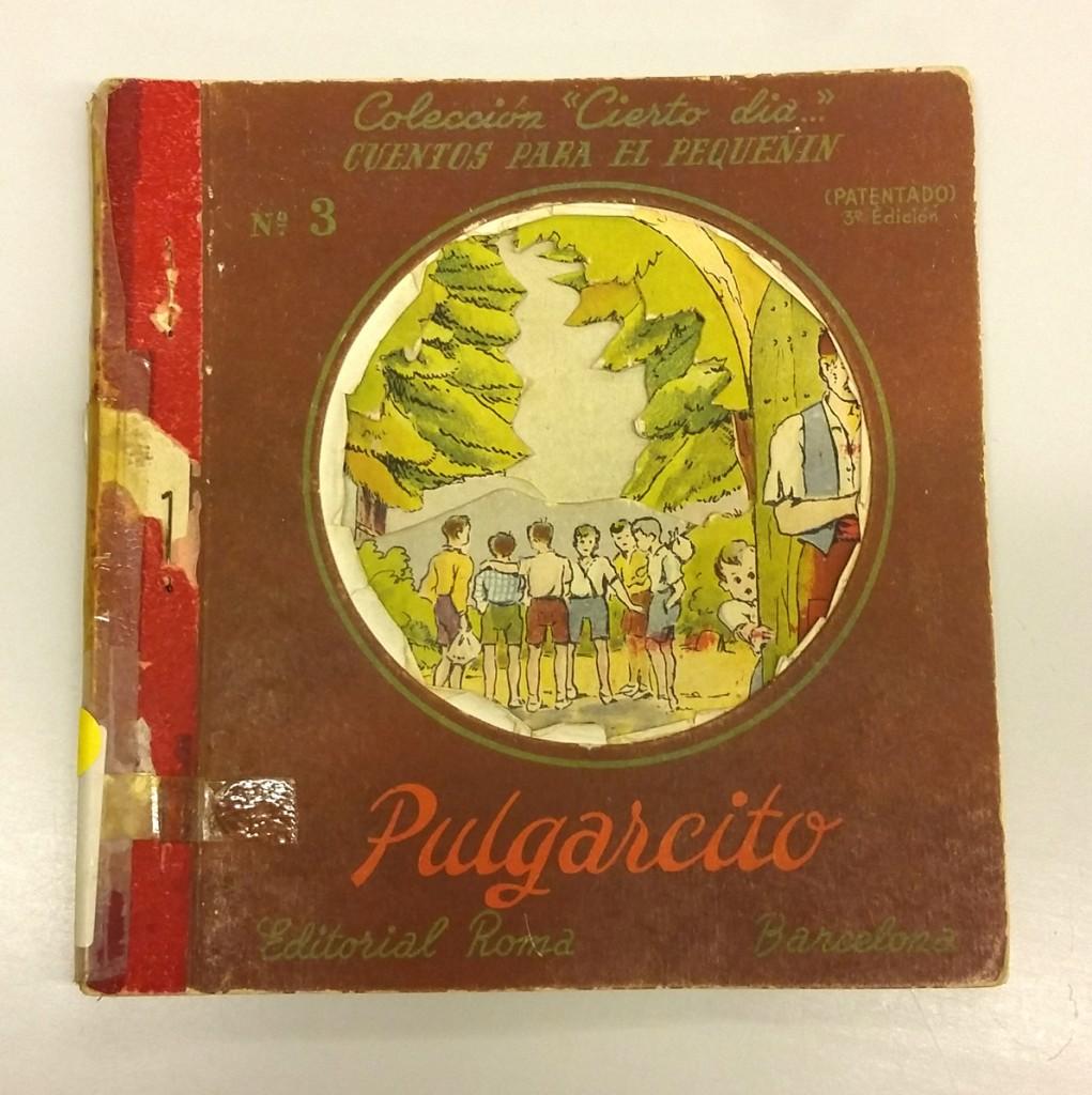 Pulgarcito (Col·lecció Cierto día), autor Charles Perrault ; ilustraciones de Lluís Mallafré; Editorial Roma, Barcelona, 1940.