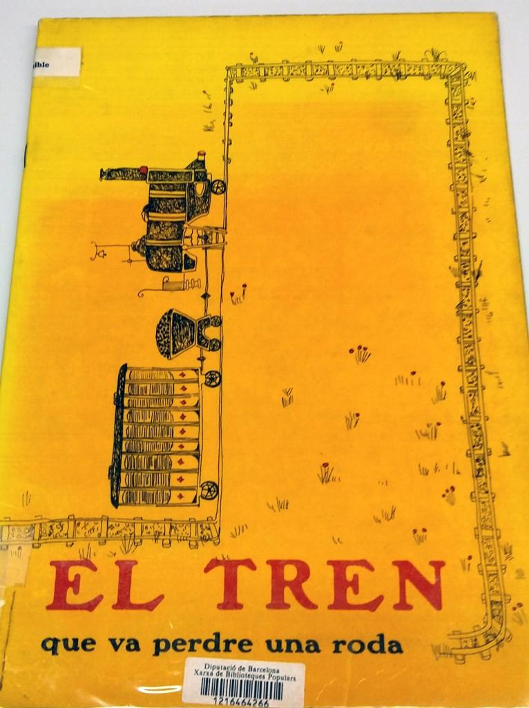 El Tren que va perdre una roda: rondalles, de Conxa Roca, ilustraciones de Aurora Altisent, La Galera, 1965.