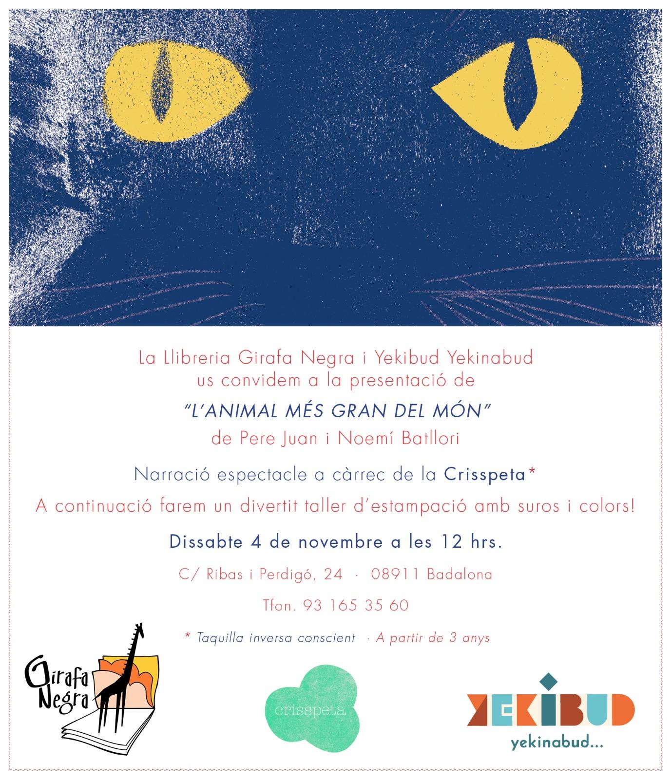 Portada del folleto de los Premios Fundación Cuatrogatos 2017. La ilustración es de Claudia Degliuomini.