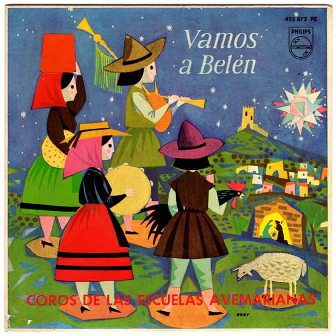 Disco-Vamos-a-Belen-BORT-1962