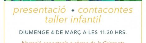 """4 de març: """"El mocador del sultà"""" a Terrassa. Contacontes i taller infantil"""